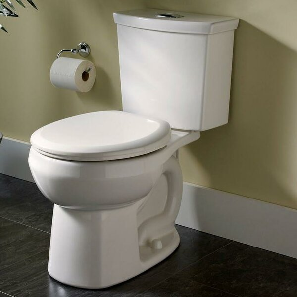 H2Option Dual Flush Elongated Two-Piece Toilet (Seat Not Included) by American Standard