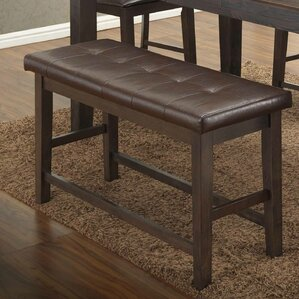 Faux leather Bench by BestMasterFurniture