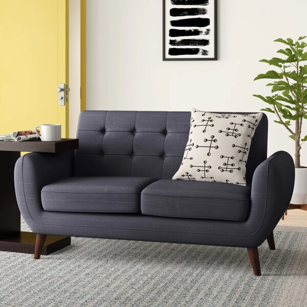 Best Brand Diara Living Room Loveseat by Zipcode Design by Zipcode Design