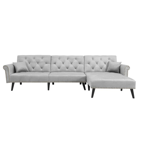 Margos Sofa Chaise By Ebern Designs