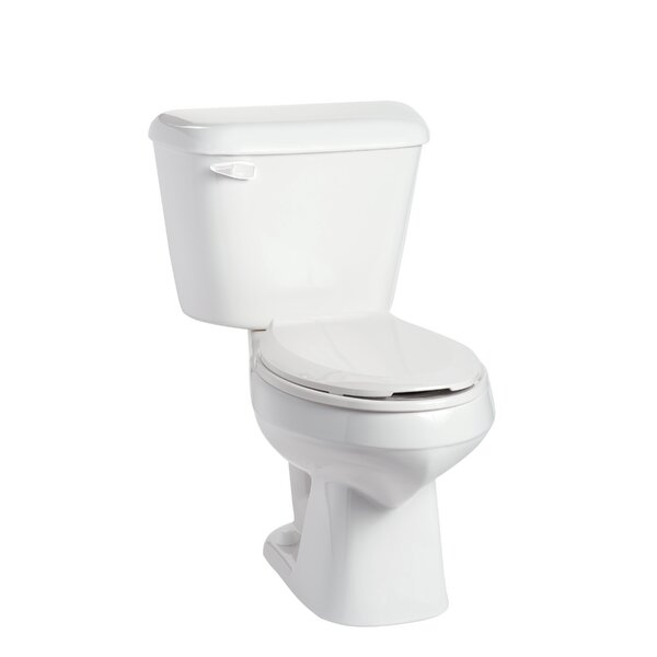 Alto 1.28 GPF Elongated Two-Piece Toilet by Mansfield Plumbing Products