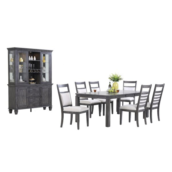 Middlebury 9 Piece Extendable Dining Set by Red Barrel Studio