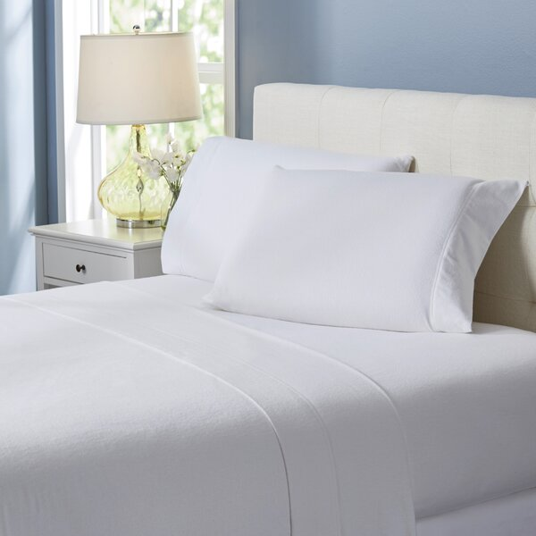 Wayfair Basics Flannel 4 Piece Sheet Set by Wayfair Basics™