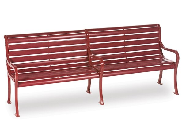 Courtyard Series Iron Park Bench by Wabash Valley