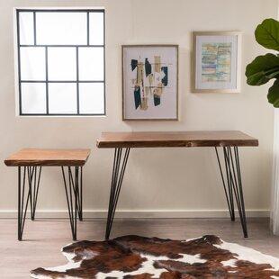 Ward Barraclough 2 Piece Writing Desk Set by Union Rustic