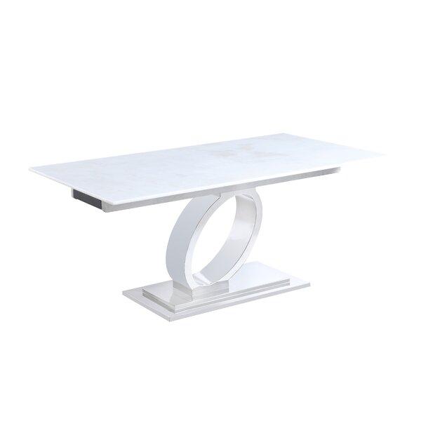 Lanna Extendable Dining Table by Orren Ellis Orren Ellis