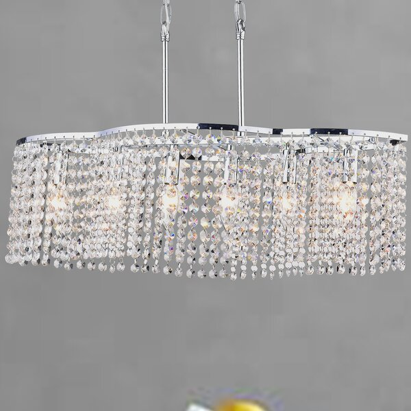 Bristow 6-Light Chandelier by House of Hampton
