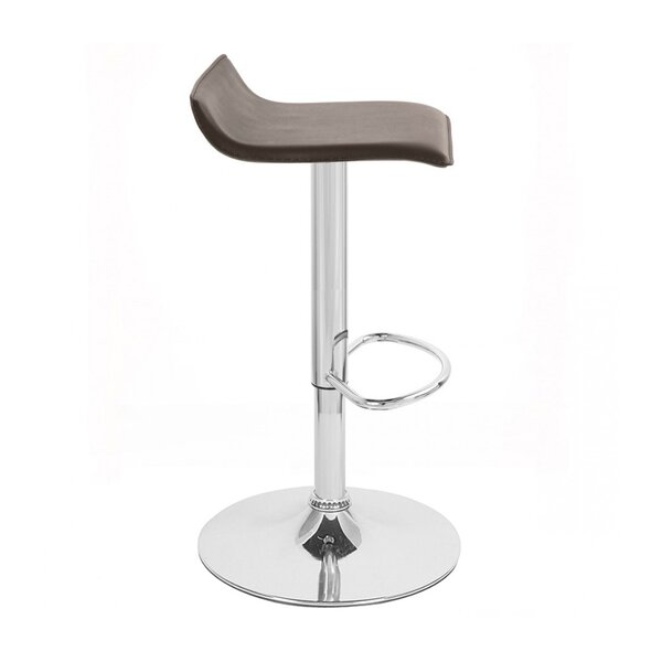 Sigma Adjustable Height Swivel Bar Stool by Vandue Corporation