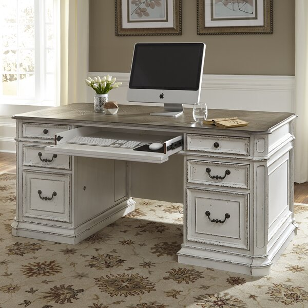 Audrey Executive Desk by One Allium Way