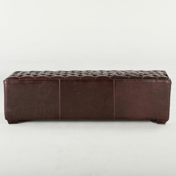 Cifuentes Faux Leather Bench by Gracie Oaks