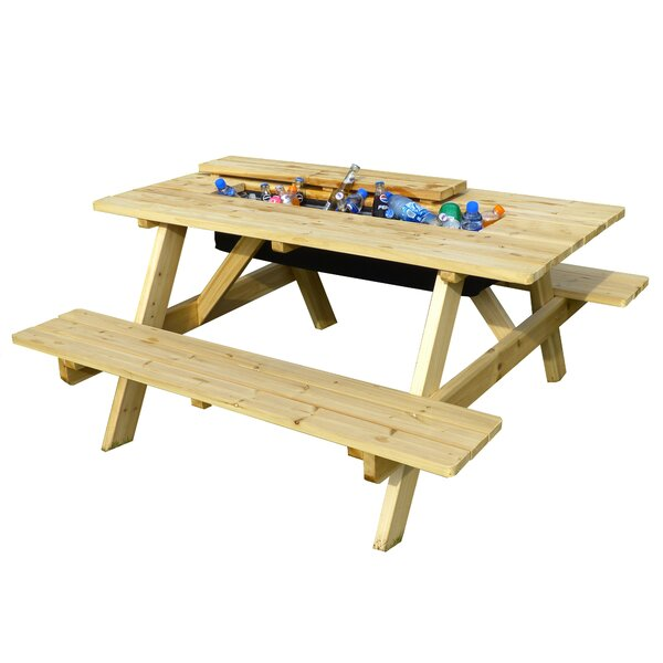 Cooler Picnic Table by Merry Products