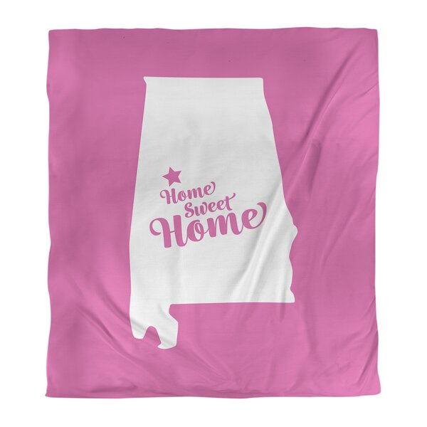 Home Sweet Tuscaloosa Duvet Cover
