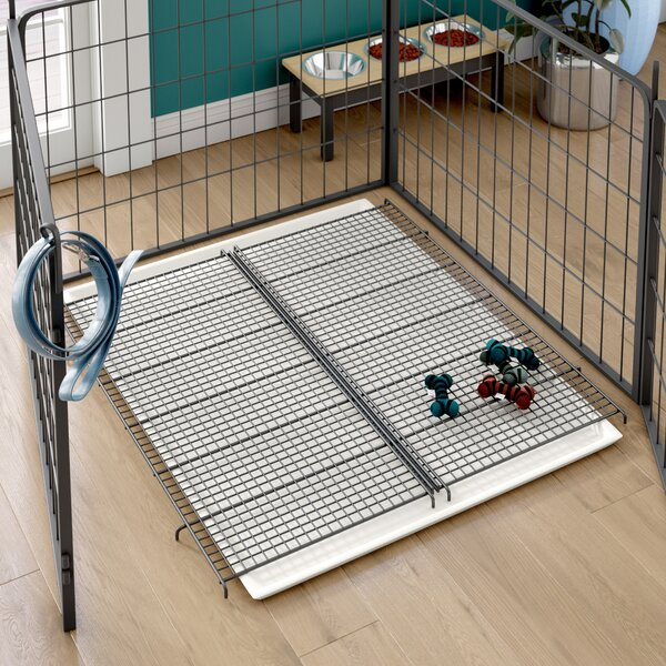 Halloran Additional Floor Grid for Puppy Playpen by Tucker Murphy Pet
