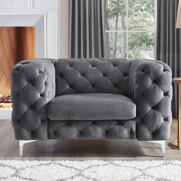 Kogan Accent Chesterfield Chair by House of Hampton