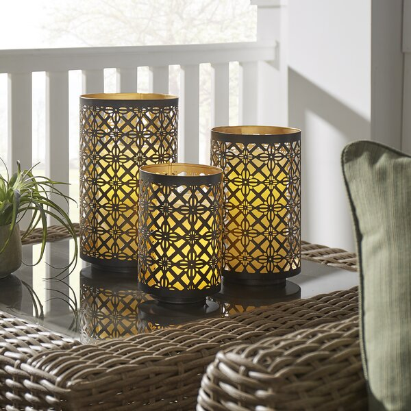 3 Piece Lantern Set by Darby Home Co