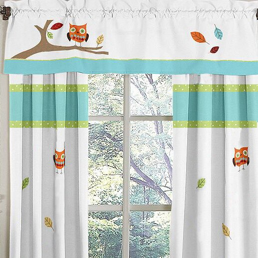 Hooty 54 Curtain Valance by Sweet Jojo Designs