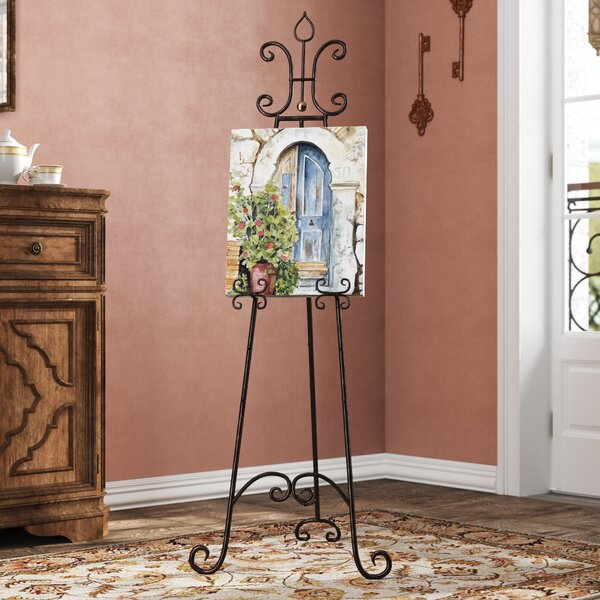 Caulkins Adjustable H-Frame Easel by Fleur De Lis Living