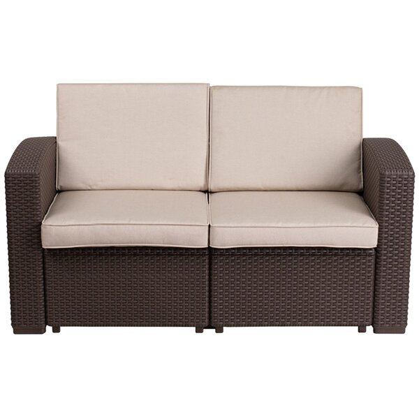 Syne Loveseat with Cushions by Latitude Run
