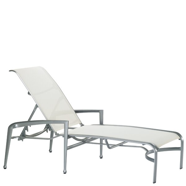 Veer Reclining Chaise Lounge by Tropitone