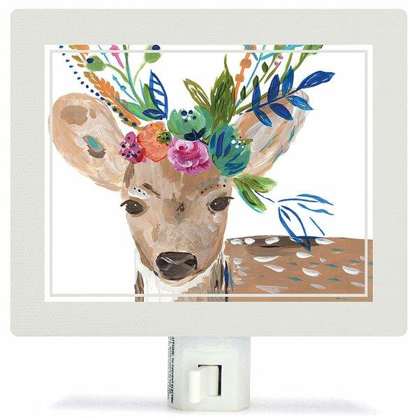 Boho Deer Night Light by Oopsy Daisy