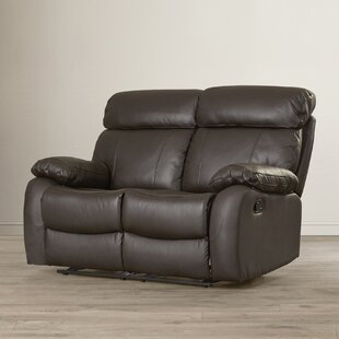Franciscan Leather Reclining Loveseat