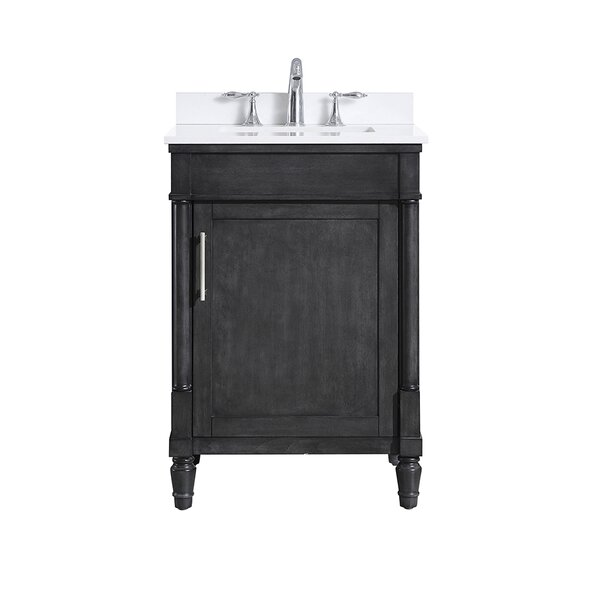 Layla 24 Single Bathroom Vanity Set by Ove Decors