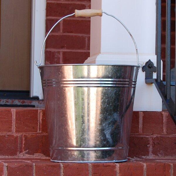 Zinc Pot Planter by Griffith Creek Designs