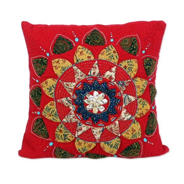 Cerritos Glory Cotton Pillow Cover by World Menagerie