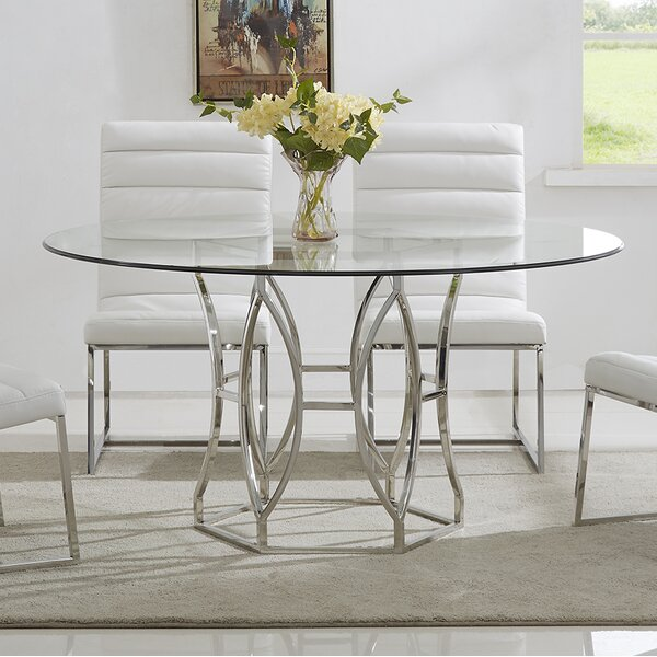 Lofton Dining Table by Everly Quinn