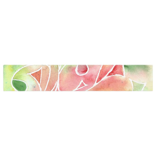 Rosie Brown Gift Wrap Table Runner by East Urban Home