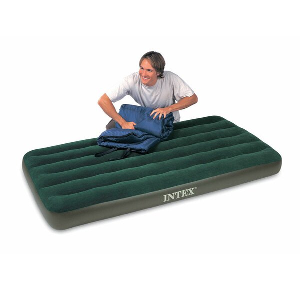 Prestige 8.75 Air Mattress with Battery Operated Pump by Intex