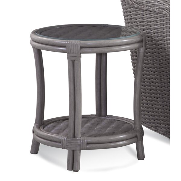 Camarone End Table With Strorage By Braxton Culler