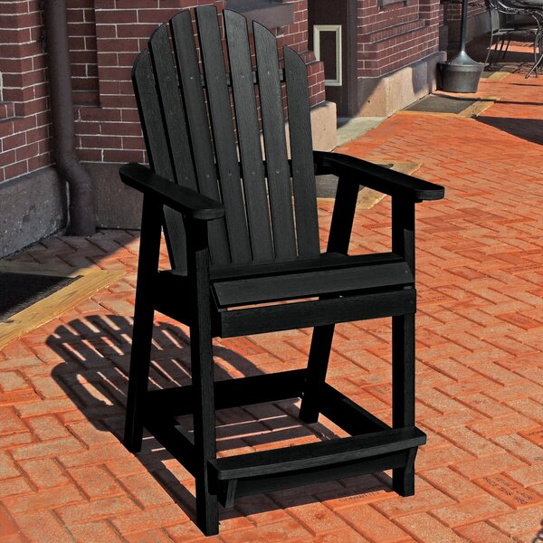 Aubree Adirondack Deck Patio Dining Chair by Rosecliff Heights