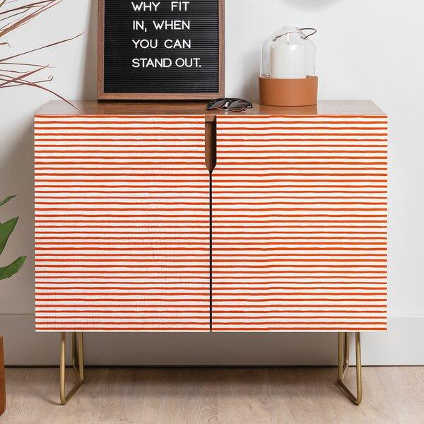 Ninola Marker Stripes Credenza By East Urban Home