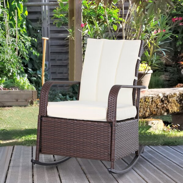 Philadelphia Recliner Patio Chair with Cushions by Latitude Run