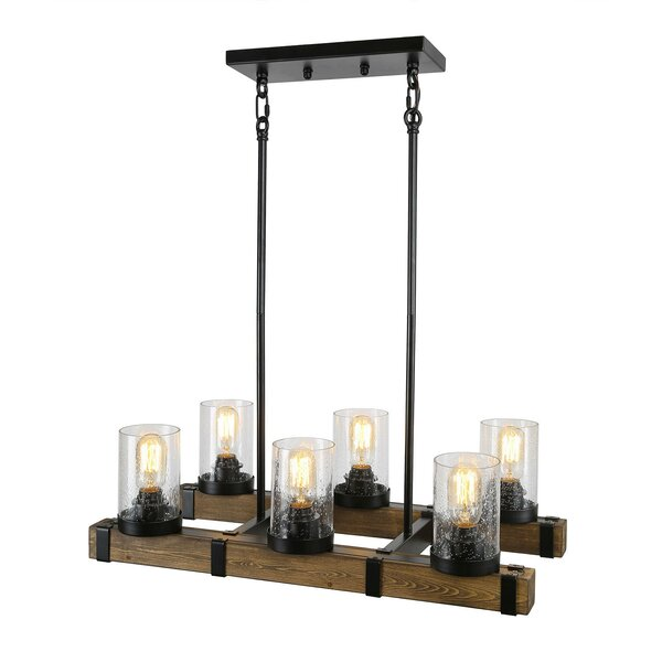 Bacup 6 - Light Candle Style Square / Rectangle Chandelier by Gracie Oaks Gracie Oaks