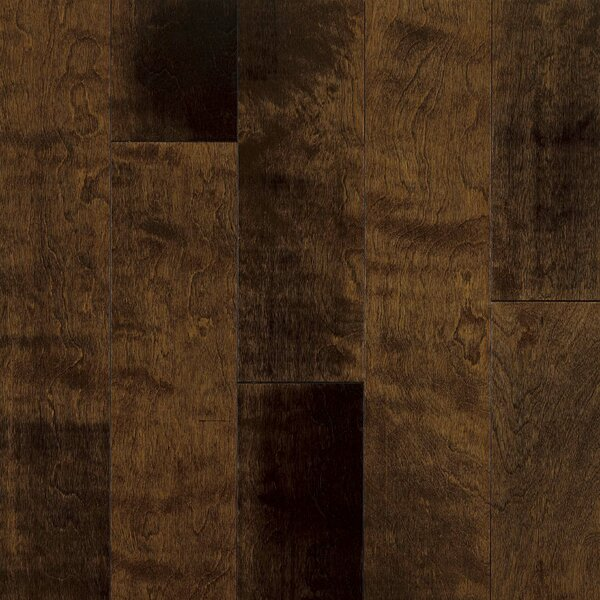 5 Engineered Yellow Birch Hardwood Flooring in Chocolate Malt by Armstrong Flooring