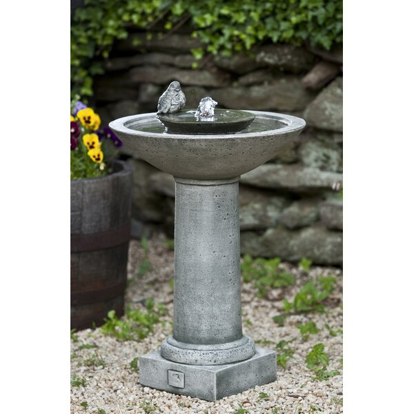 Concrete Aya Fountain by Campania International