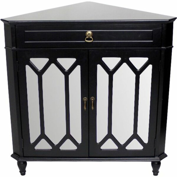 Hagans 2 Door Corner Accent Cabinet by Breakwater Bay Breakwater Bay