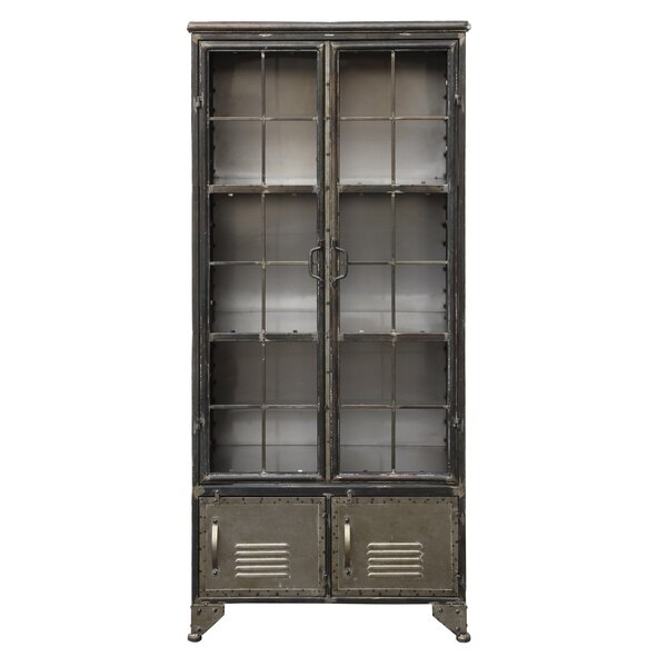 Dinapoli Metal 4 Door Accent Cabinet