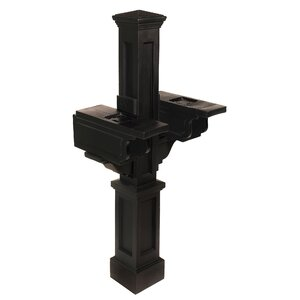 Rockport Double 4.5 Ft. H In-Ground Multi-Mount Mail Post