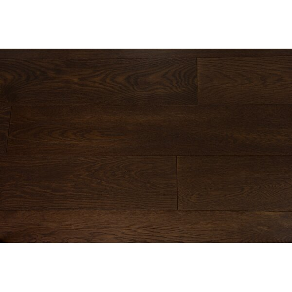Everest 6 Engineered Oak Hardwood Flooring in Mocha by Branton Flooring Collection