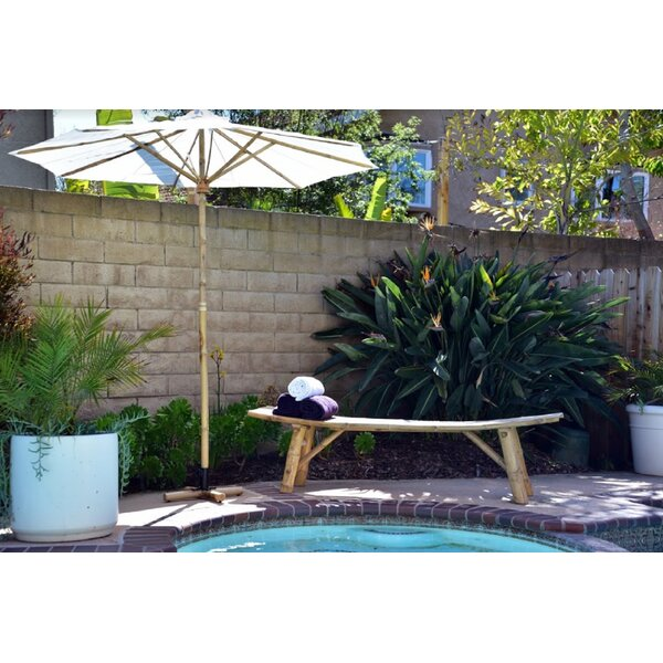 Indigo Wood Bench by Bay Isle Home