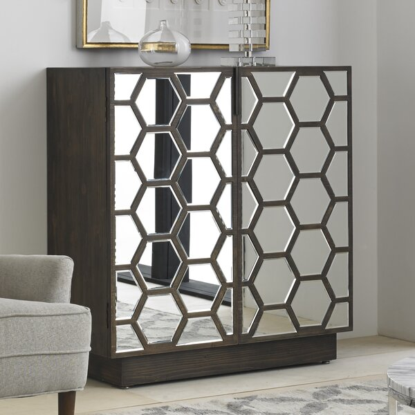 Honeycomb Bar Cabinet by Wine Enthusiast