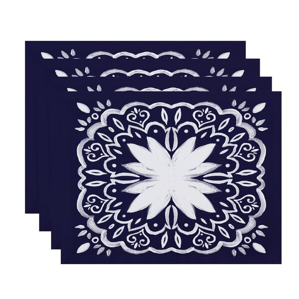 Willems Tile Placemat (Set of 4) by Latitude Run