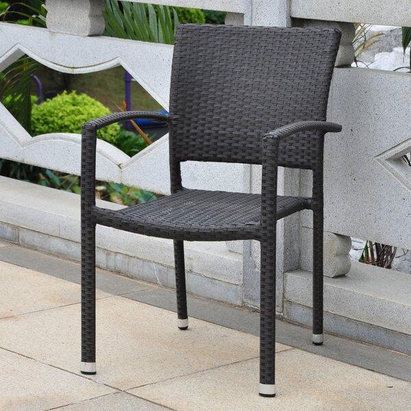 Katzer Stacking Patio Dining Chair By Brayden Studio by Brayden Studio No Copoun