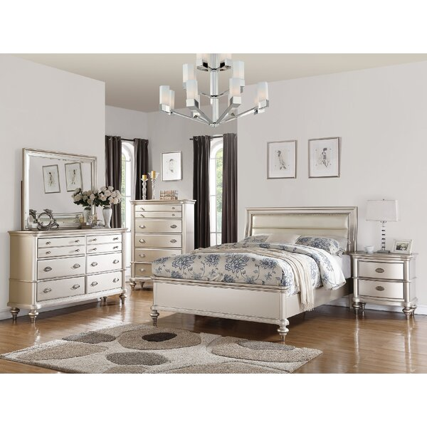 Niemi Platform Configurable Bedroom Set by House of Hampton