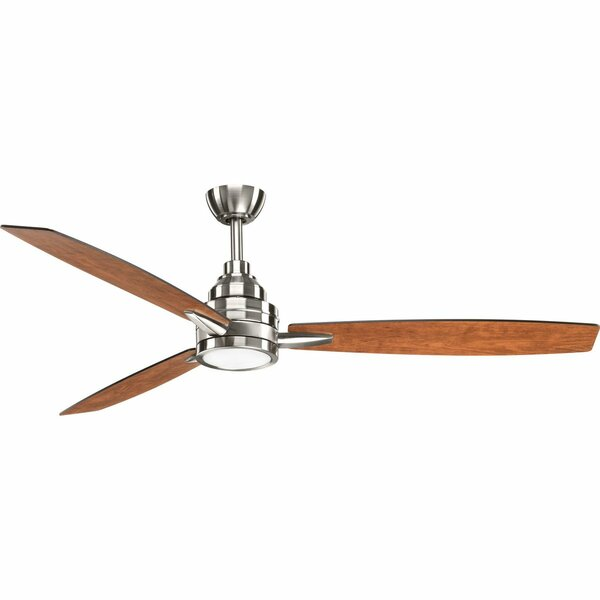 60 Aliff 3 Blade LED Ceiling Fan with Remote by Br