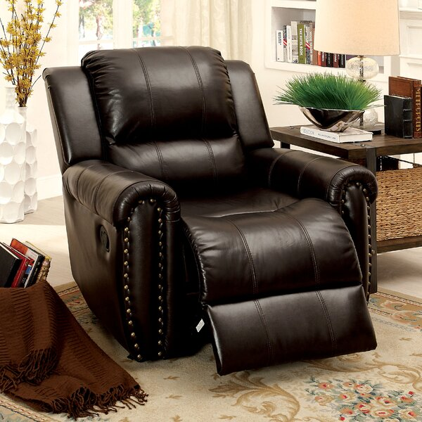 Vargas Manual Recliner by Darby Home Co