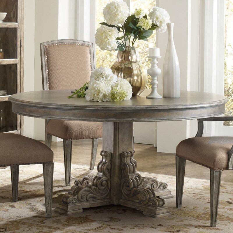 hooker furniture true vintage dining table & reviews   wayfair